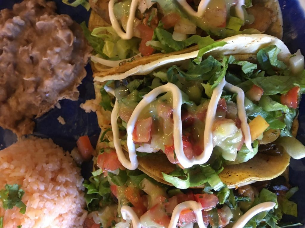 Enjoy a large selection of vegan Mexican food in Las Vegas at Pancho's Kitchen. For more vegan food in Las Vegas, visit www.vegansbaby.com/vegansbaby2018