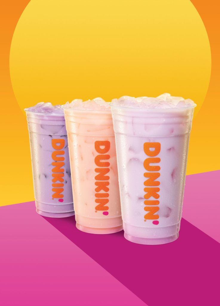 Dunkin' Donuts adds coconutmilk refreshers to menu. Find out what's vegan at Dunkin' Donuts. For more vegan dining visit www.vegansbaby.com